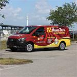 Home-Tech Company Vehicle
